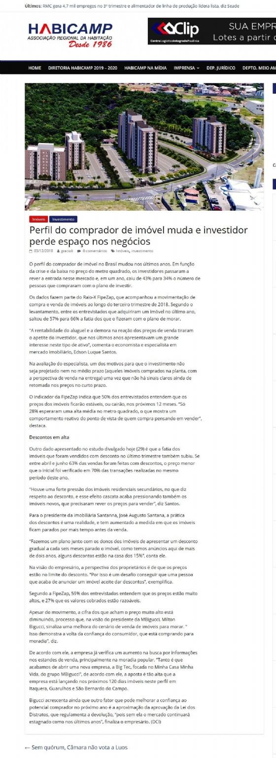 609975ae8 Perfil do comprador de imóvel muda e investidor perde espaço nos negócios  03 12 2018 - Portal Habicamp