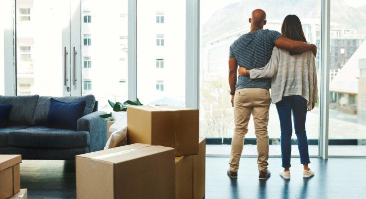 morar em apartamento ou casa